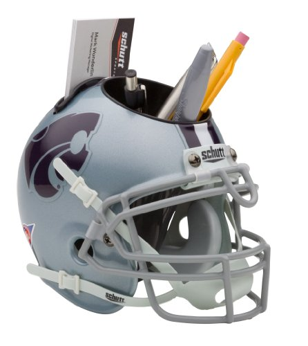 (NCAA Kansas State Wildcats Mini Helmet Desk Caddy)