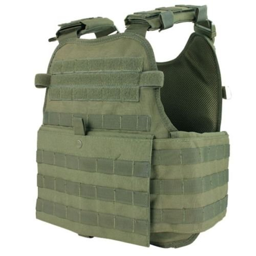Plate Carrier Vest (Condor Outdoor MOPC Gear Vest LBE Tactical Molle (OD Green)