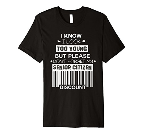 (Senior Citizen Discount Birthday Gift 55 or 60 Years Old)