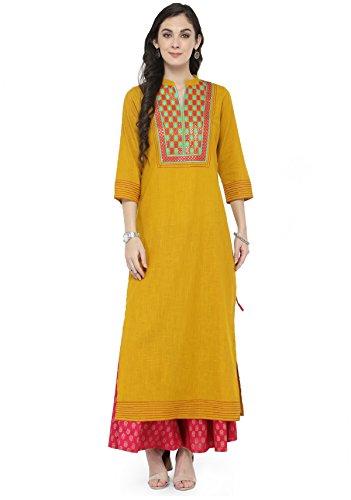 Indian Women Designer Kurta Kurti Bollywood Tunic Ethnic Pakistani Top Crepe Kurtis Dress Tunics Cotton Tops Blouse Style Long Silk - Boys Images Pakistani