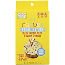 Color kitchen Sprinkle Set Yellow, 1.33 oz