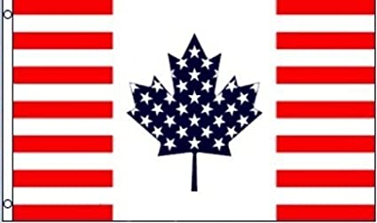 d397c291cac1 Amazon.com   3 x5  Canada - US Friendship Flag
