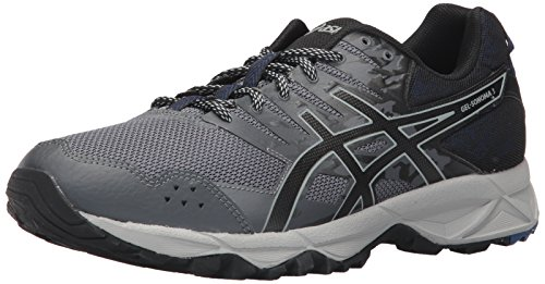 ASICS Mens Gel-Sonoma 3 Running Shoe, Carbon/Limoges/Black, 7 Medium US ()
