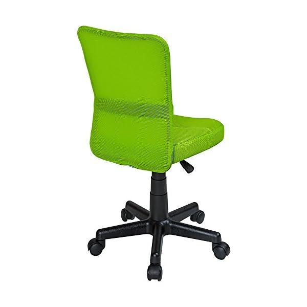 Tectake Sedia Ufficio Sedia Girevole Stoffa Rete Disponibile In Diversi Colori Verde No 401795 Sediaperufficio It
