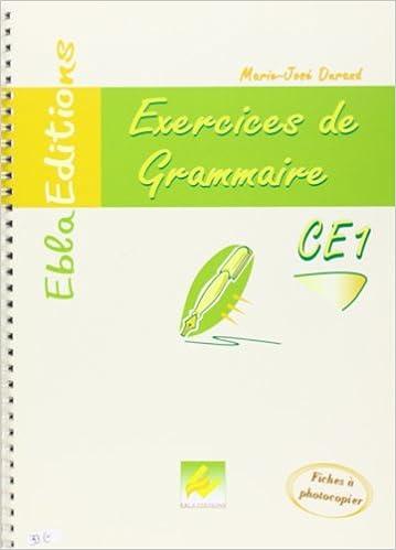 Livre gratuits CE1-Grammaire CE1 epub, pdf