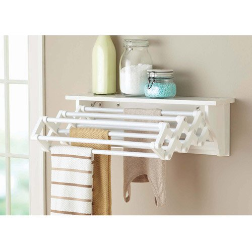 Com Better Homes And Gardens Wall Mounted Drying Rack White Home Kitchen