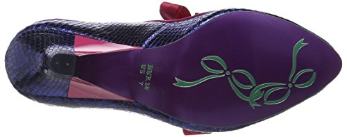 Choice Licence Donna Blu Punta Chiusa col Pink Poetic Tacco by Schools Navy Aa out Irregular Scarpe qtWFACw