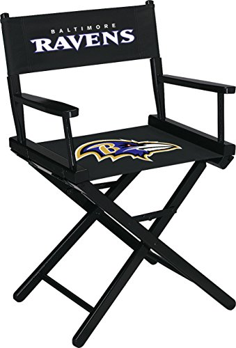 Imperial Officially Licensed NFL Merchandise: Directors Chair (Short, Table Height), Baltimore Ravens -