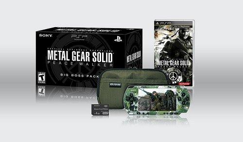 Metal Gear Solid Peace Walker Big Boss Bundle Pack by Sony