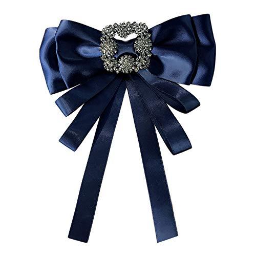 Lannister Collar Coreano Vintage Satinado Tela Diamantes Lazo ...