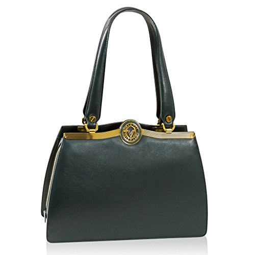 Valentino Orlandi Italian Designer Green Calfskin Leather for sale  Delivered anywhere in Canada