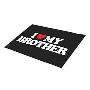Rio-radio Humor Custom Doormat Love My Brother Front Door Mats