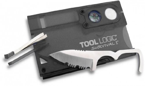 SOG Survival Card ToolLogic SVC1-7 Tools: Lens, Compass, 1
