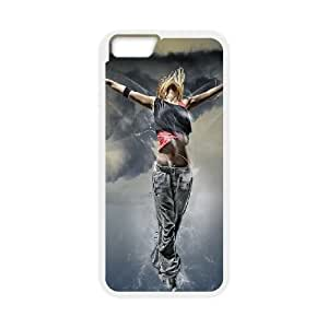 iPhone 6 4.7 Inch Cell Phone Case White Fantasy Girl Flying Mcazt