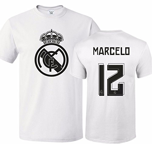 huge selection of 4e261 d9d67 Tcamp Real Madrid Shirt Marcelo Vieira #12 Jersey Youth T-shirt