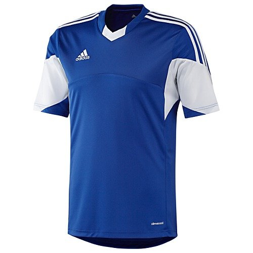 Adidas Mens Climacool Tiro 13 Short Sleeve Jersey Medium Cobalt/White
