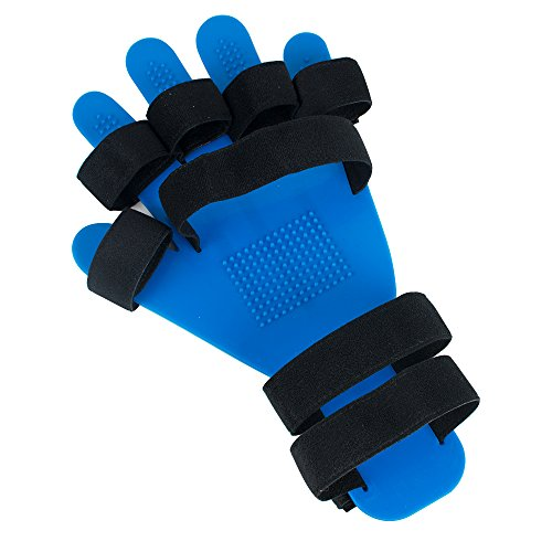 (Lolicute Fingerboard Training Stroke Hand Wrist Orthosis Separate Finger Flex Spasm Extension Board Splint Apoplexy Hemiplegia Right Left for Men Women Patients Arthritis Rehabilitation)