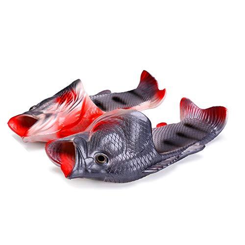 Han shan Unisex Non-Slip Fish Slippers Beach Fish Slippers Animal Fish Slippers (Male/Female/Children) Choose More Colors