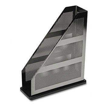 (Rolodex E22635 Distinctions Magazine File 3 3/4 x 10 1/4 x 12 Metal/Black)