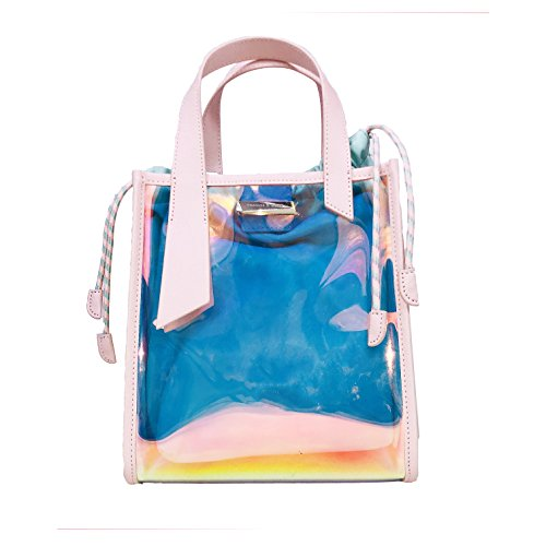 et laser printemps mère de sac poudre transparent couverture sac de cerise nouveau sac Femmes coloré l'été fils messenger qwEBIB