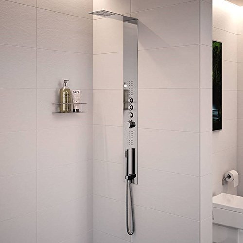 Trembor Luxury Shower Panel with Body Jets by Better Bathrooms Â