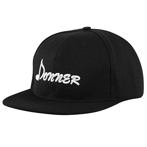 Donner Cap Snapback Flatbrim Hat