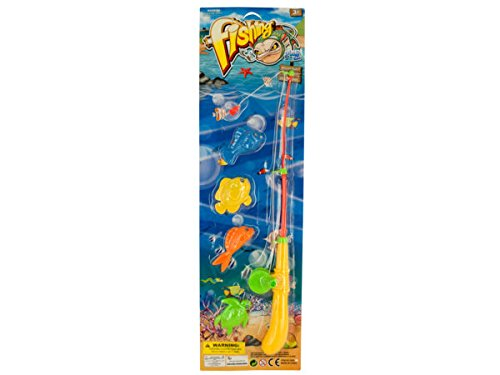 Magnetic Fishing Play Set - Pack of 48