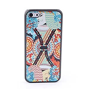 HP Poker Style Protective Back Case for iPhone 5C