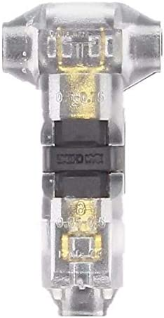 YYG-YYG コントローラ、Tタイプ10PCS透過シングルワイヤーケーブルコネクタの圧着端子ロッククイックアクセサリー ペンチ