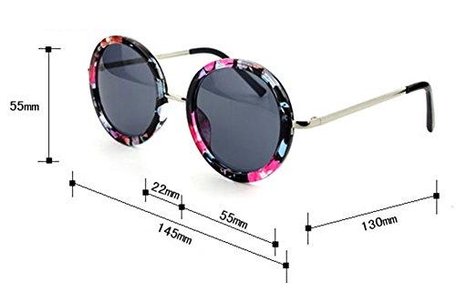 de UV400 redondas unisex sol vintage clásico diseño Gafas DaoRier 5nW8qxZOaw