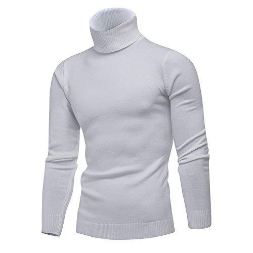 Los Cardigan Cómodo De Hombres Battercake Cuello Alto Casa Cálido Invierno Sweater Normal Fuerte Camisa New Cálida Suéter Blanco Chaqueta XdqCw