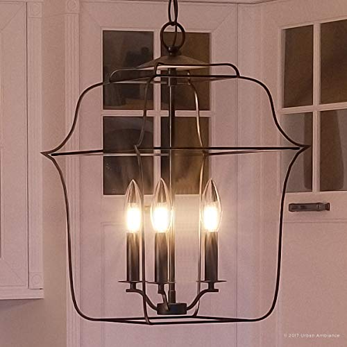 Luxury Colonial Chandelier, Small Size: 14.75
