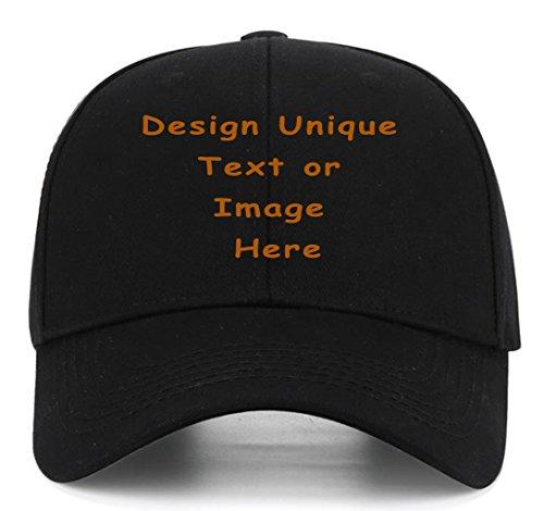 Personalized Trucker Hats Customized Adjustable Snapback Baseball Caps Dad Hat ()
