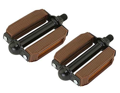 (Lowrider 507 Block PVC Bike Pedals 1/2