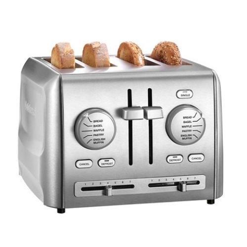 Cuisinart CPT 640 4 Slice Toaster Stainless