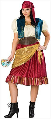 InCharacter Costumes Women's Plus Size Gypsy (Cotton Plus Size Costumes)