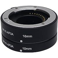 Mcoplus MK-N-AF3-A Metal Auto Macro Focus AF Extension Tube MK-N-AF-3A for Nikon 1 Mount Camera J1 J2 J3 V1 V2