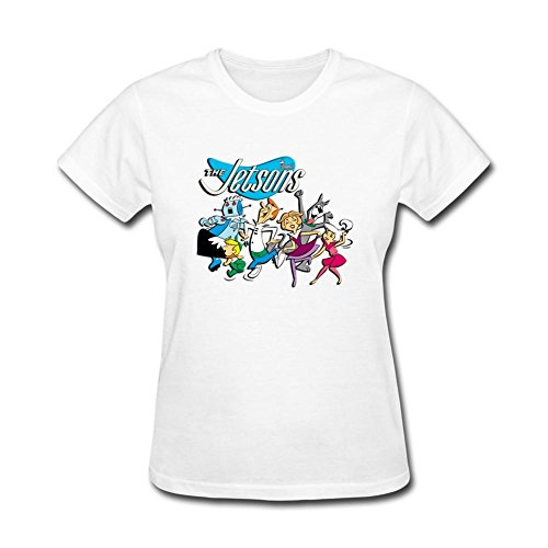 Jetsons Maid - VEBLEN Women's The Jetsons Design Cotton