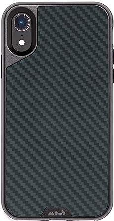 newest 1e6b9 0927b Mous Protective iPhone XR Case - Aramid Carbon Fibre - Screen Protector Inc.