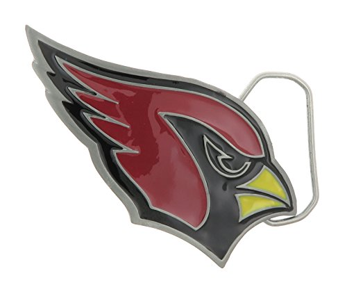 Arizona Cardinal Football Officially Licensed Metal Belt Buckle (Metal Licensed Belt Buckle)