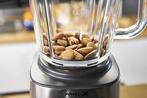 Moulinex PerfectMix + Frullatore con Tecnologia Powelix, 3 Programmi, Vaso in Vetro Termoresistente, 1200 W, 1.5 Litri… 6