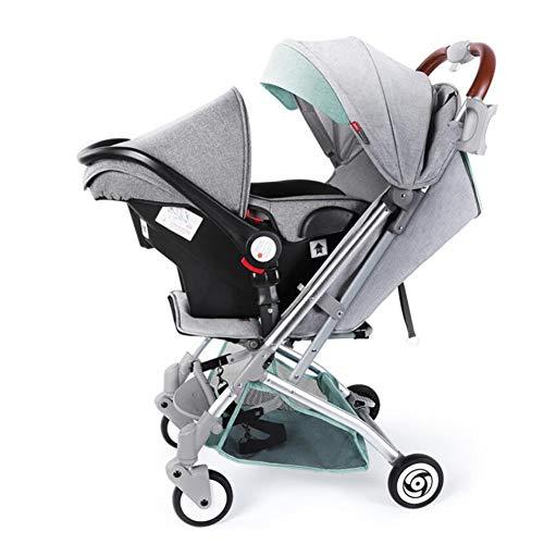 NaNa Lightweight Baby Stroller 2 in 1 Aluminium Alloy Pram,2
