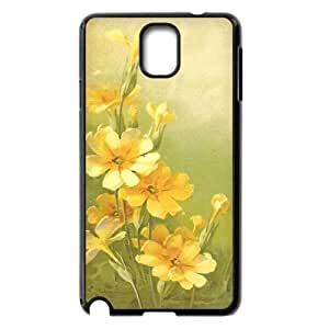 Vintage Flower Watercolor Personalized Cover Case for Samsung Galaxy Note 3 N9000,customized phone case ygtg586136