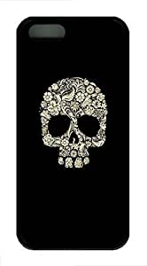 Cool Skull 2 Case For Htc One M9 Cover Case Funny Lovely Best Cool Customize Black Cover