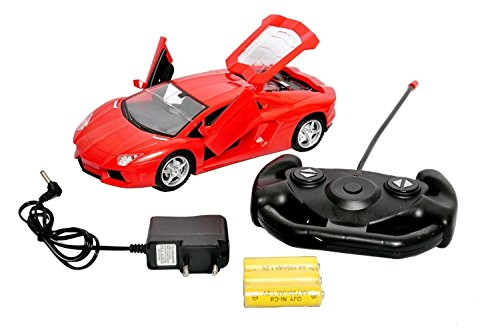 0f20d8423 Buy Toyshine Full Function Lamborghini Remote Control Car with Opening  Doors (Rechargeable) Online at Low Prices in India - Amazon.in