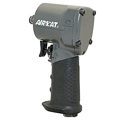 Image of Home Improvements AIRCAT 1057-TH 1/2' Impact Wrench, Compact, Grey