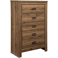Signature Design by Ashley B369-46 Cinrey Chest Of Drawers, Medium Brown