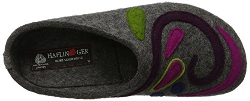 Haflinger Grizzly Jette - Zapatillas Mujer Gris (Anthrazit)