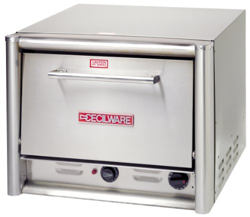Grindmaster Cecilware PO22 Countertop Pizza Oven with 2 Shelves, 26.5-Inch, Stainless Steel ()