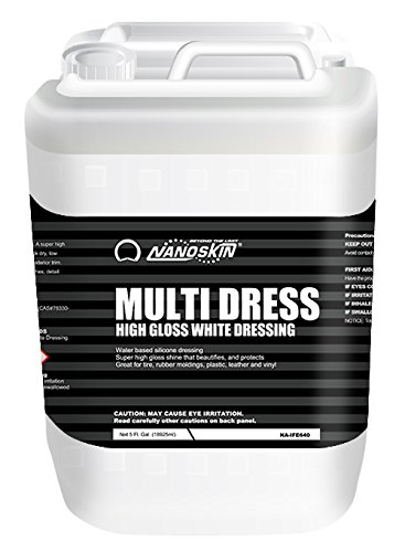 Nanoskin (NA-MDS640) White Multi Dress High Gloss Dressing - 5 Gallon